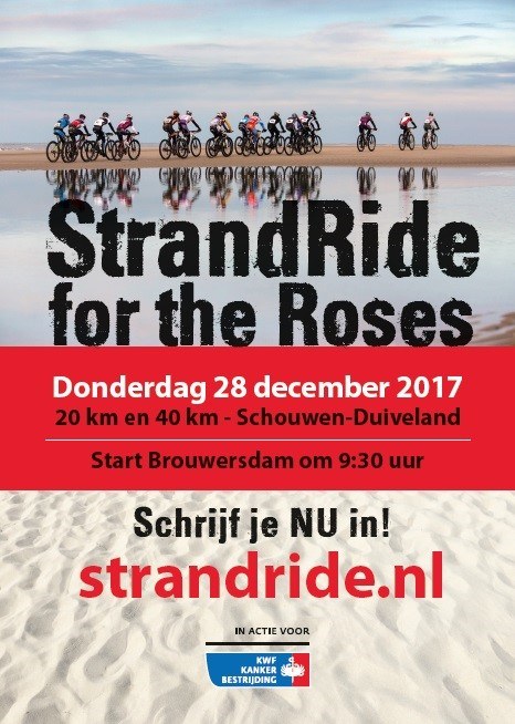 20171208-1 Affiche Strandride for the Roses 2017